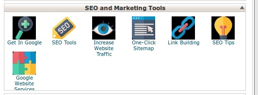 SEO tools on cPanel